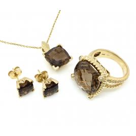 Sada zlatých šperků